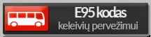 E95 kodas keleivių pervežimui